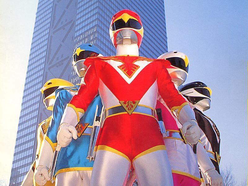 Chojin Sentai Jetman (1991)